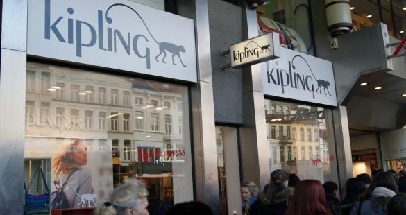 Kipling Antwerpen Keyserlei
