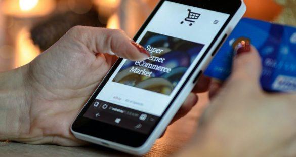 mobiele webwinkel